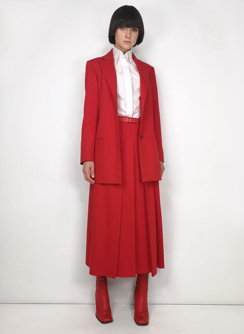 jacket-švarkas-blouse-palaidinė-skirt-sijonas
