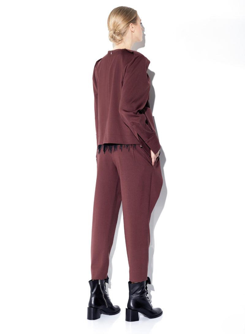 blouse-palaidinė-trousers-kelnės-belt-diržas